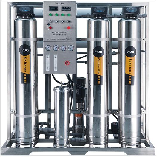 美国优口YUQ-SY06-1T/H(不锈钢)型RO反渗透纯水设备