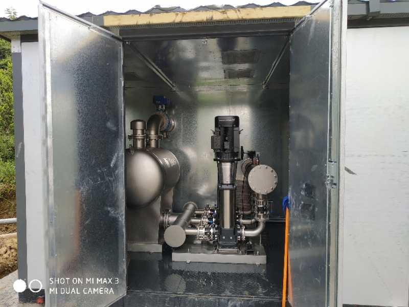 箱式一体化加压泵站