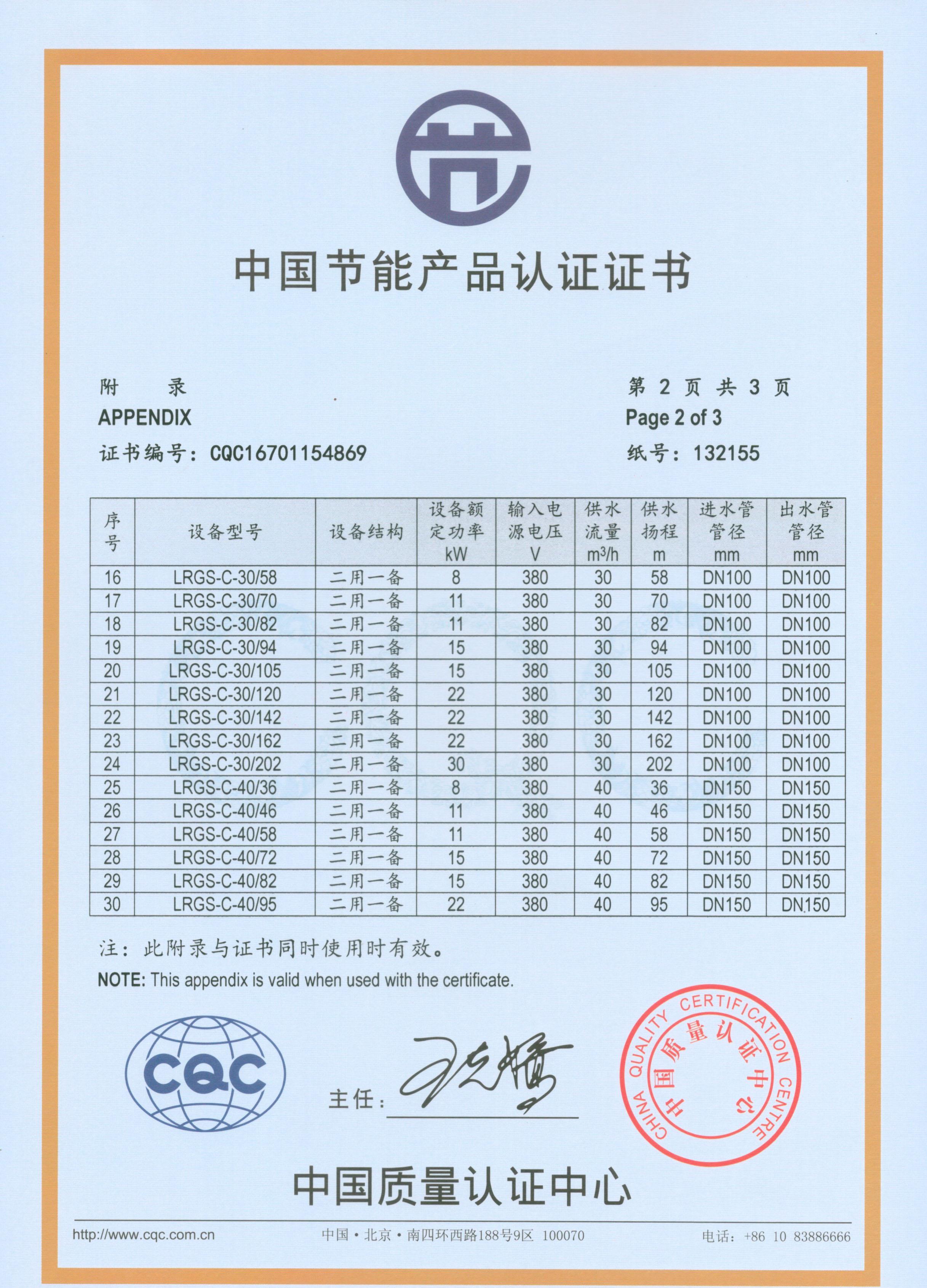 中国节能产品认证4
